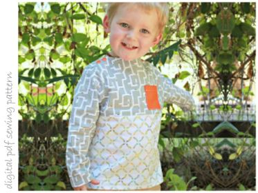 Hemlock Top - Sizes 2 to 10 | Craftsy | digital pdf sewing pattern