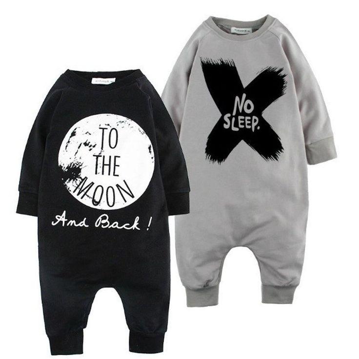 Newborn Kids Baby Boy Infant Warm Cotton Outfit Jumpsuit Romper Bodysuit Clothes #Unbranded #DressyEverydayHoliday
