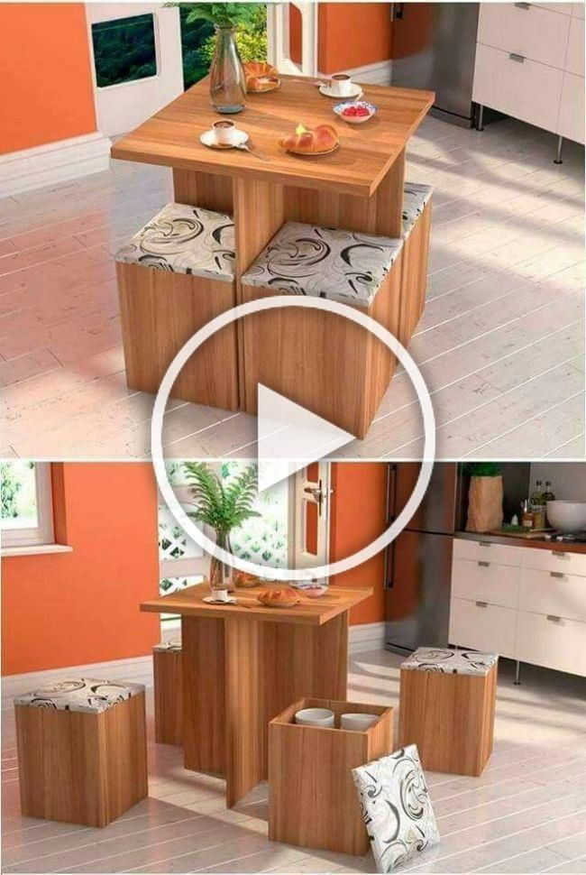 Bedroom Dining Furniture Saving Small Space Table Dining Table Space Saving In 2018 Space Saving Furniture Decor Home Decor Styles Diy Bedroom Decor