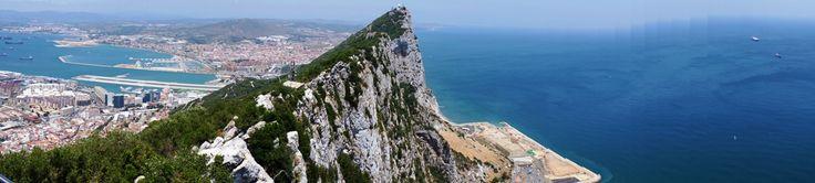 Panorâmica do Rochedo de Gibraltar - Viagem com Sabor