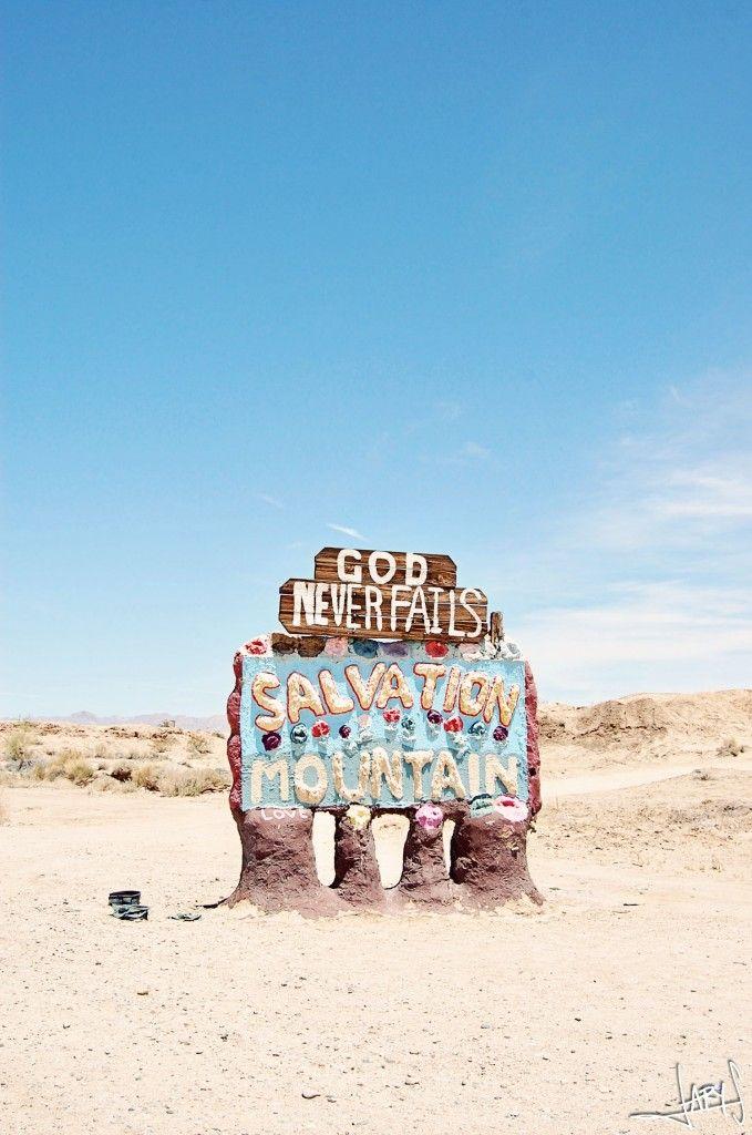 Salvation Mountain   Inspiration Nook
