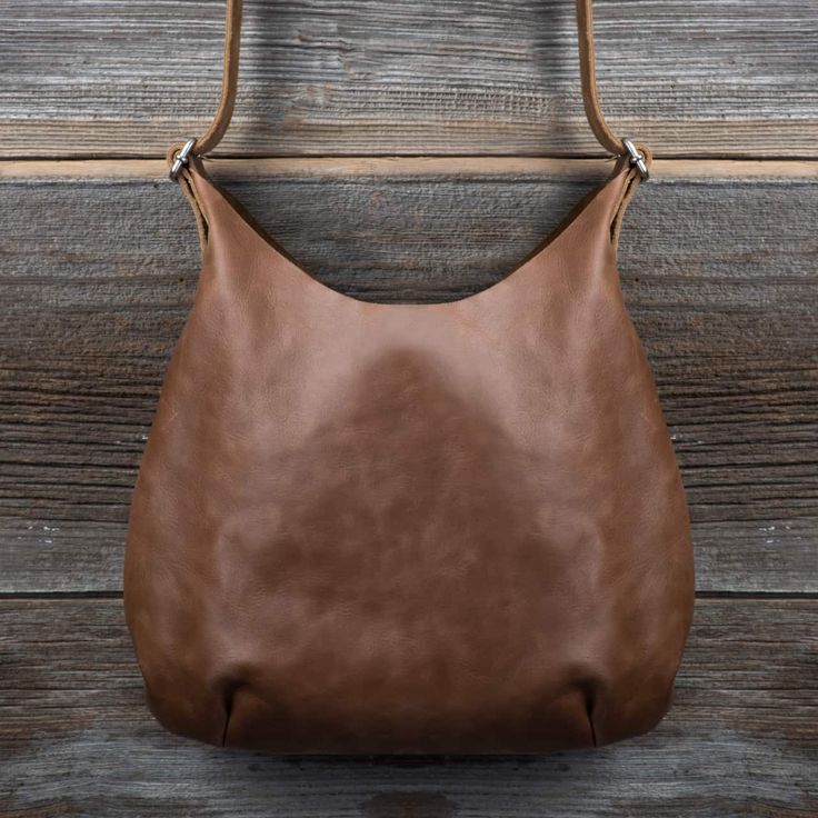 Reversible Leather Hobo Purse - Leather Hobo Bags | Love 41