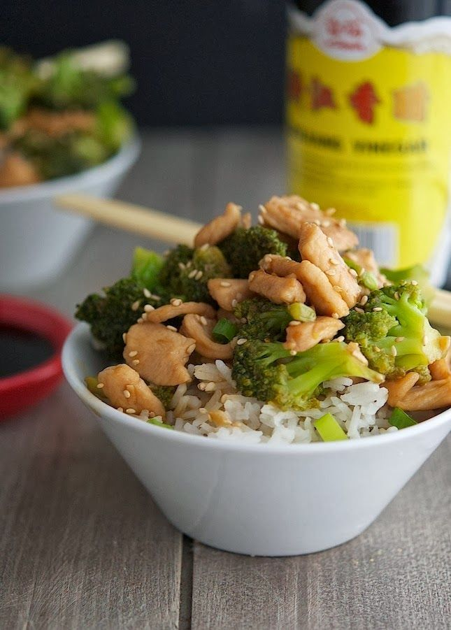 The Iron You: Chinese Chicken and Broccoli (Low Carb