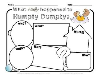 19 best Prek/K- humpty dumpty images on Pinterest