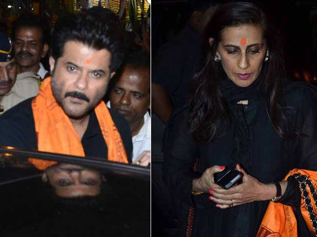 Pics: Anil Kapoor, Wife Sunita Offer Prayers at Siddhivinayak Temple http://movies.ndtv.com/photos/anil-kapoor-wife-sunita-offer-prayers-at-siddhivinayak-temple-11300