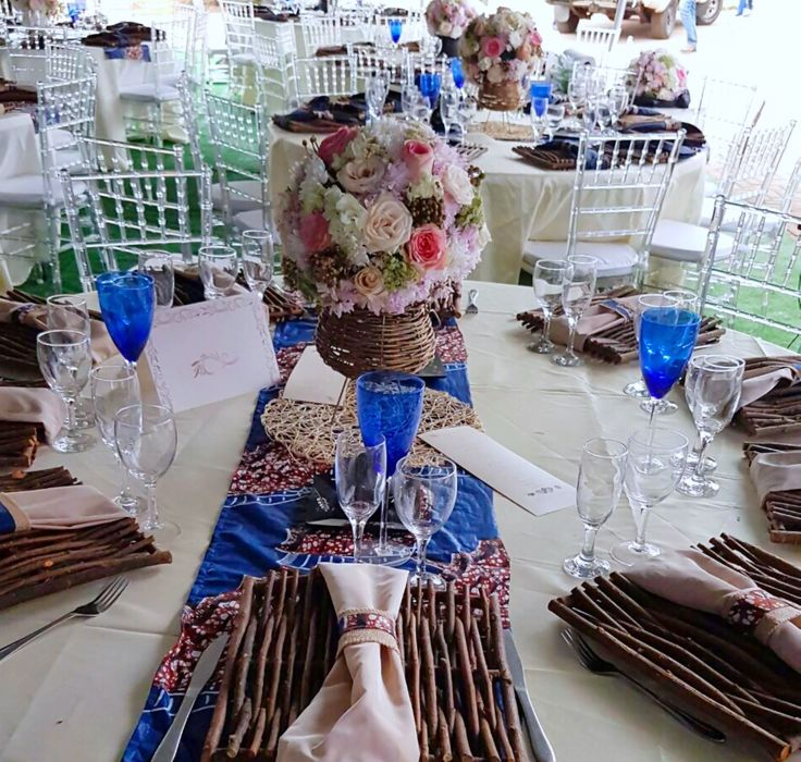 17 best images about shongaevents on pinterest mint baby for African wedding decoration theme