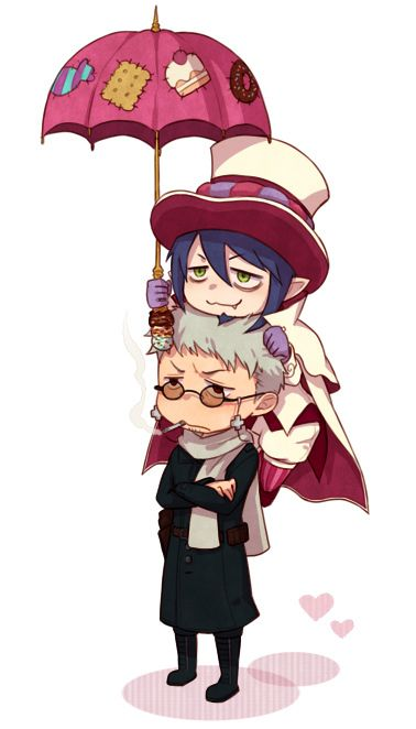 Blue Exorcist ~~ Oh, to see these two back when they were younger....