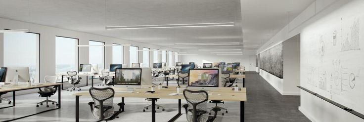DoubleRace Rail | Vode Lighting | Direct/indirect for interior general, open office and conference room applications
