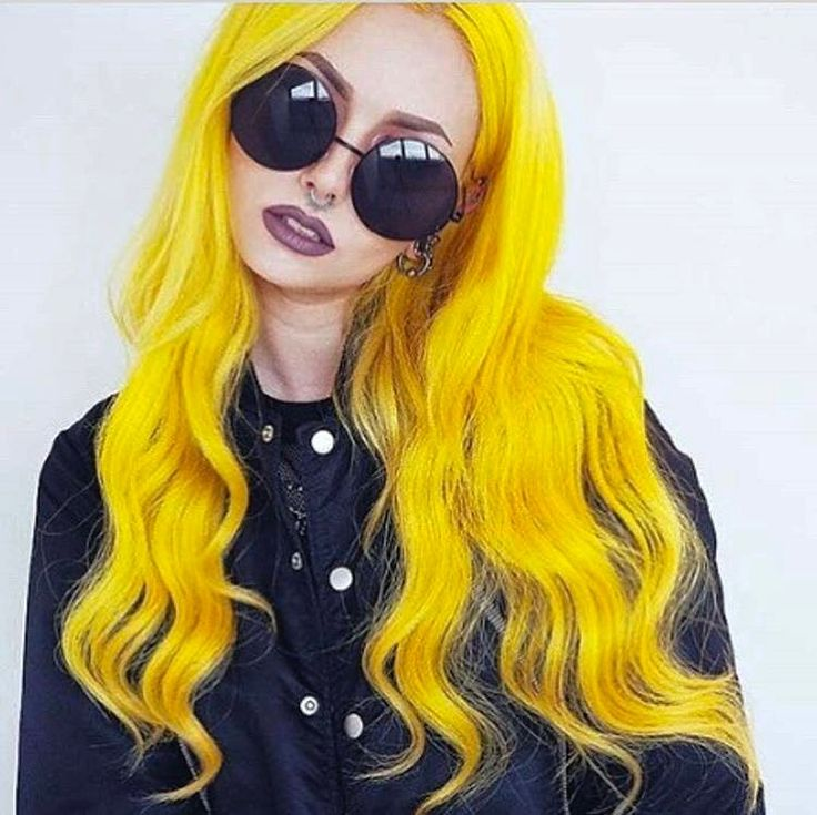 картинки с желтыми волосами чего сможете