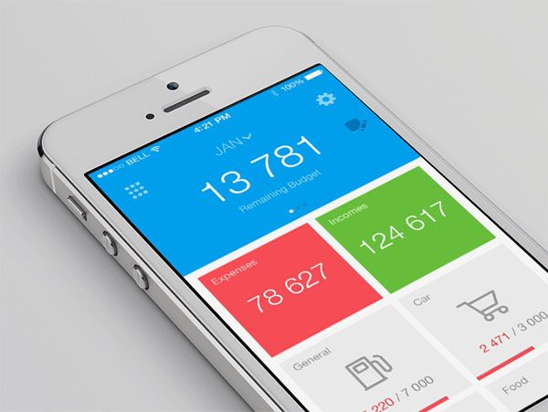 50 Cool Finance App UI Design for Inspiration - Smashfreakz