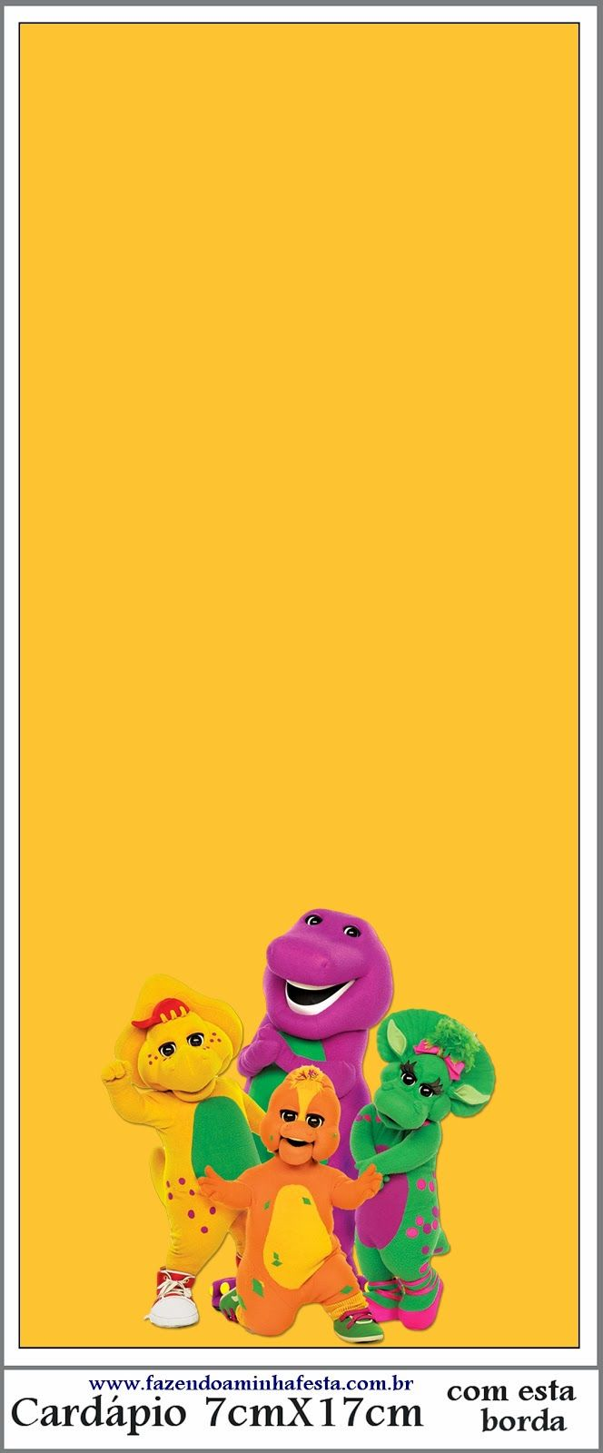 138 best barney printables images on pinterest barney party
