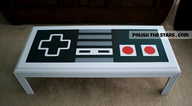 This girl is my hero.  I need to make this coffee table for me and A, and put it in our nintendo room.