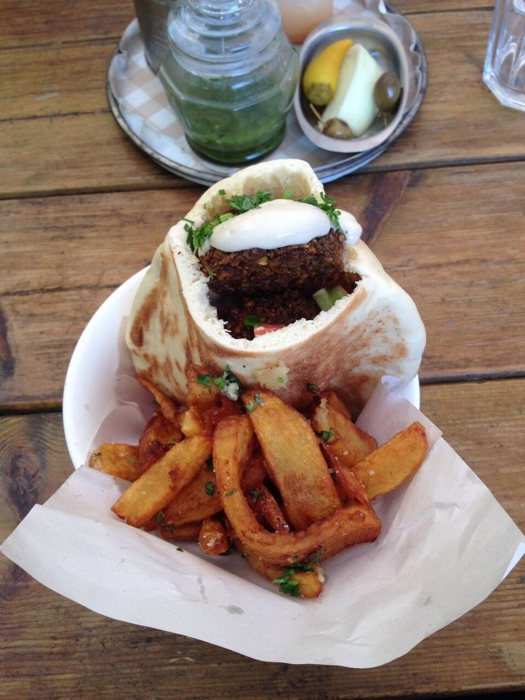 Honestly, my favorite falafel place is just out of this world. Their chips are incredible.