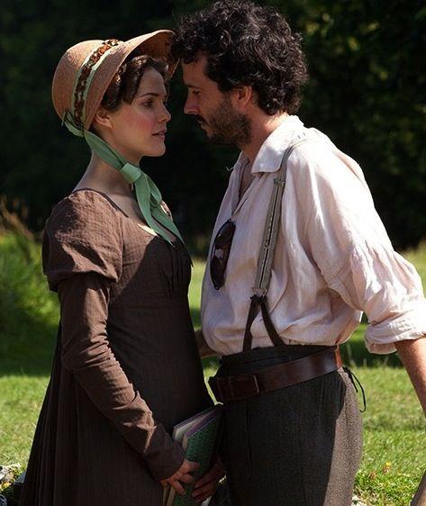 Keri Russell & Bret McKenzie = supercute in the Austenland trailer