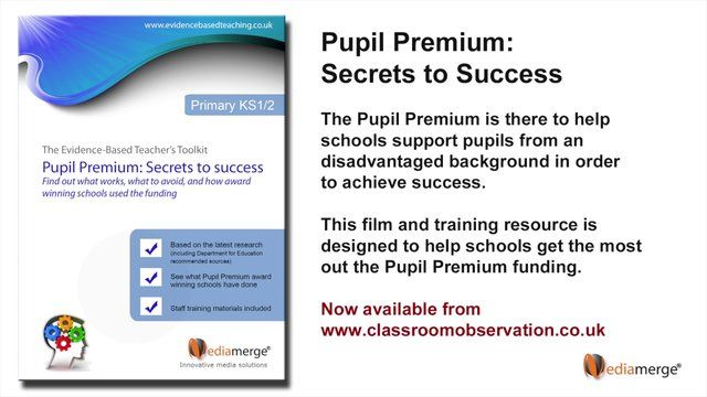 How to use the Pupil Premium effectively