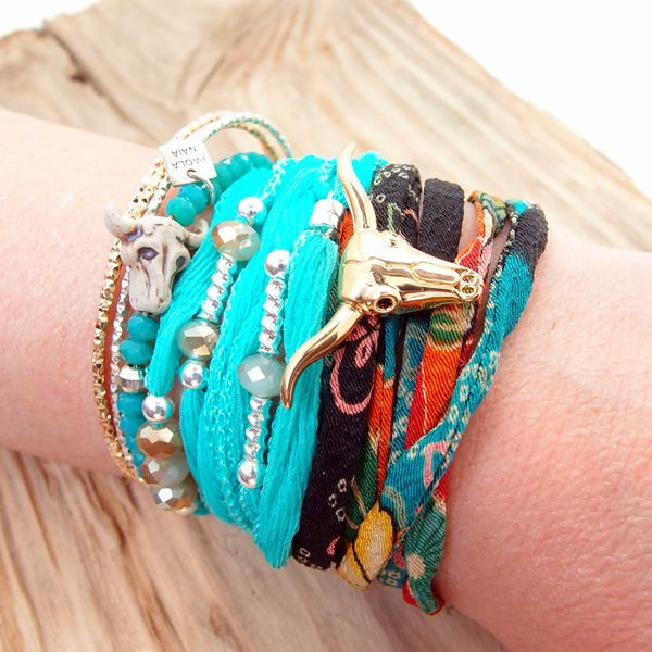 Bracelet collier Cristal