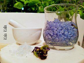 Aprenda a fazer o Sal Azul das Bruxas.