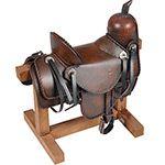 Miniatura Sela para Cavalo Decorativo Dr0103 Preto - BTC