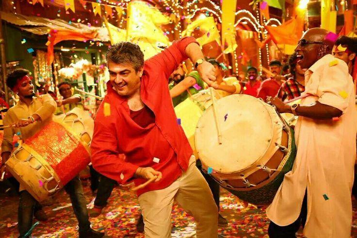 Mr.Ajith Kumar dance Move at Vedalam Movie