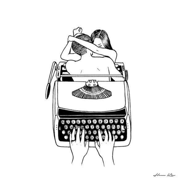The Story of Us Art Print by Henn Kim