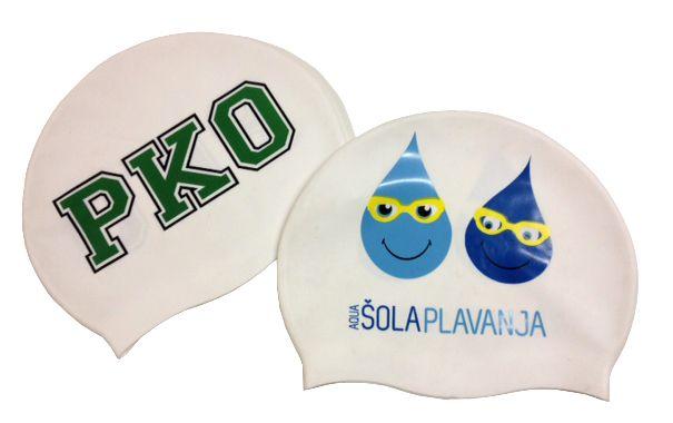 Gorros de piscina personalizados para pko