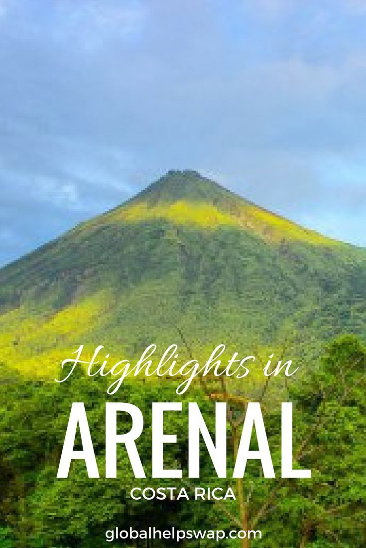 Arenal Costa Rica Things to do