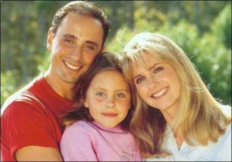 Olivia Newton-John and Matt Lattanzi