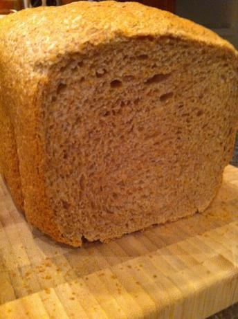 Soft and fluffy 100% whole wheat bread