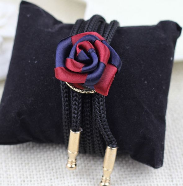Bolo Tie, For Men And Women, Rose Design, Neck Tie, Adjustable