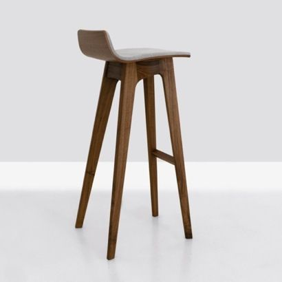 Shop SUITE NY For The Morph Stool In Walnut Designed By Formstelle For  Zeitraum And More Modern Counter And Bar Stool, Solid Wood Dining  Furniture, ...
