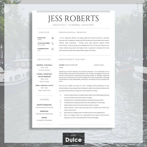 The 25+ best Professional cv ideas on Pinterest Cv template, Cv - resume template au