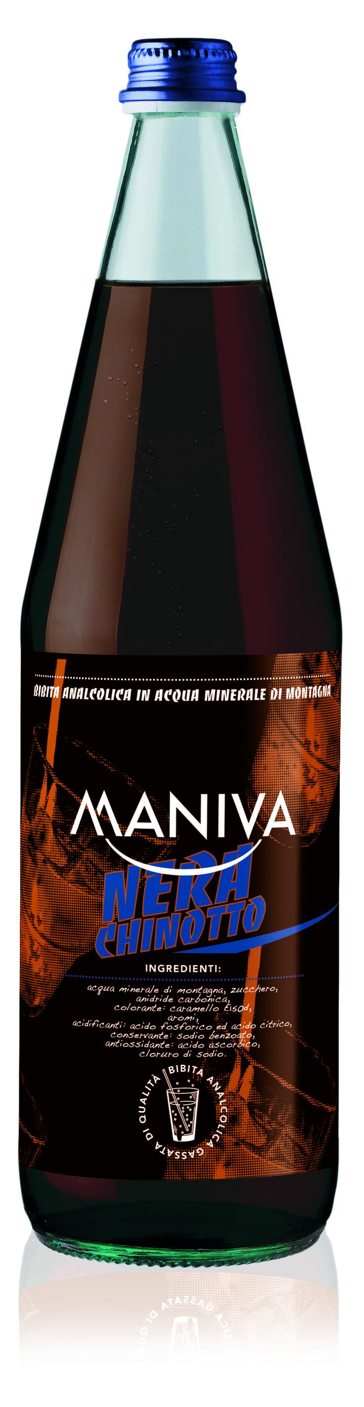 CHINOTTO Bibita analcolica frizzante, di alta qualità garantita anche dalla leggera acqua minerale di montagna di cui è composta