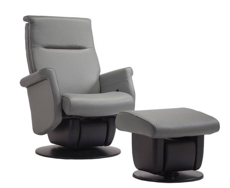 Dutailier Quebec Avantglide Ergonomic Leather Glider