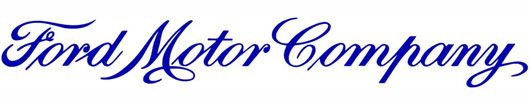 Another corporate logo still used today that is written in Spencerian: Ford Motor Company