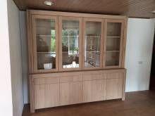 BUFFETKAST Deze buffetkast is gemaakt van licht rustiek eikenhout. De deuren en laden zijn te openen d.m.v. een push to open systeem. Wij maken alles...