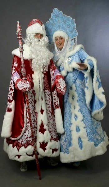 Grandfather Frost and the Snow Maiden