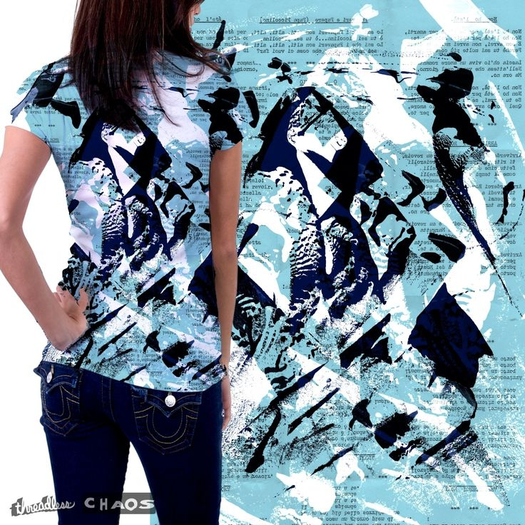 """Check out my new design submission """"Samurai text blue!"""" on @threadless https://www.threadless.com/designs/samurai-text-blue"""
