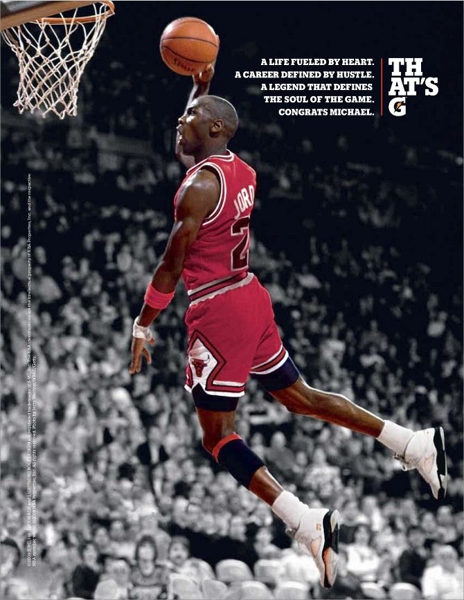 Gatorade (1 of 2) with Michael Jordan. Source Type: indirect. Source  attribute used: credibility. The brand uses Michael Jordan because he is  associated ...