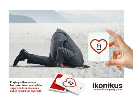 Ikonikus: Feeling Fearful / Susto... Jugar con las emociones nunca ha sido tan divertido Playing with emotions has never been so much fun  BrainPicnic.com Ikonikus.com