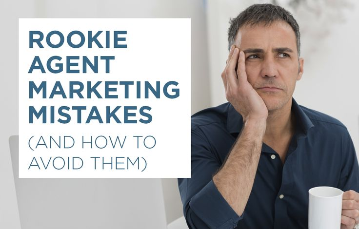 Discover the top real estate marketing mistakes agents make at the beginning of their careers — and how to avoid making them yourself. http://plcstr.com/1rStsWM #realestate #marketing