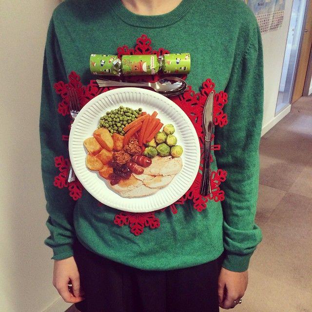 Made! Christmas dinner jumper - DIY