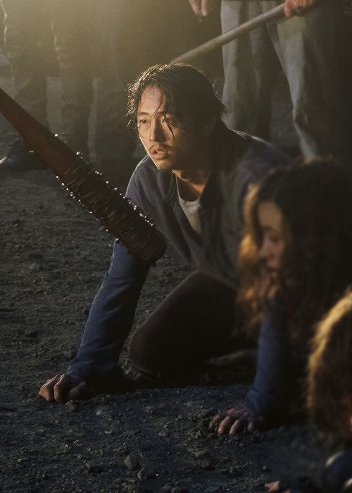 The Walking Dead Season 7 Ep. 1 'The Day Will Come When You Won't Be' Glenn Rhee