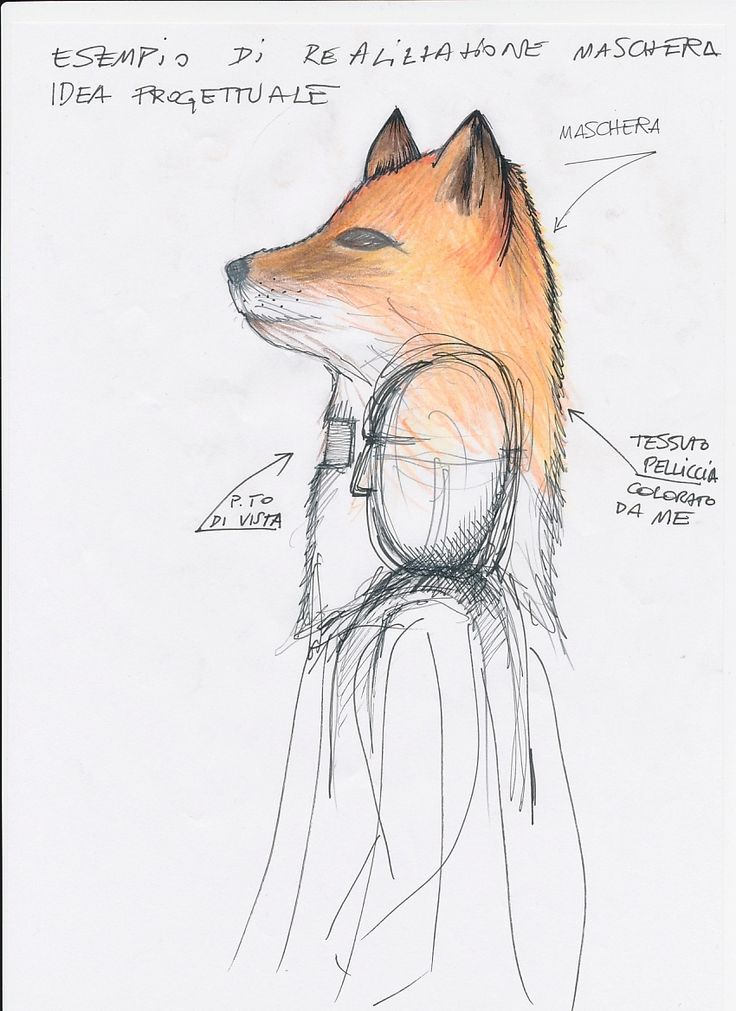"""""""Animalia"""" . Project for an animal mask.  Come Achille work"""