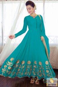 South Indian Film Actress Aqua Blue Color Anarkali Suit #salwarsuit, #anarkalidress more: http://www.pavitraa.in/catalogs/actress-trisha-krishnan-anarkali-salwar-suits-online/?utm_source=rn&utm_medium=pinterestpost&utm_campaign=27jun
