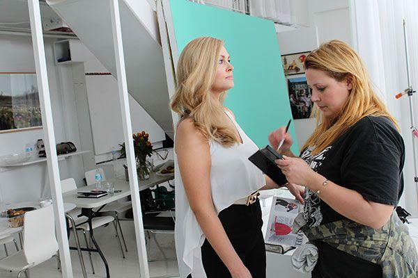 Mannequin taille plus: en coulisses avec Justine LeGault