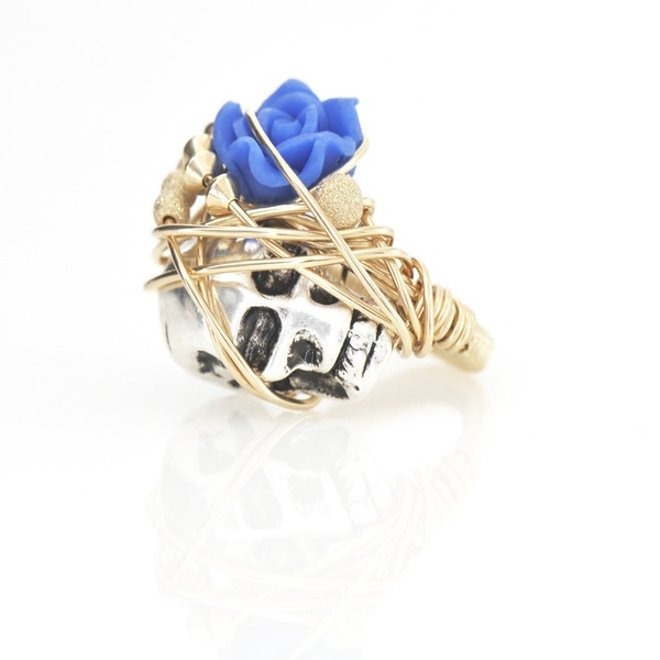 Kate & Bee skull ring
