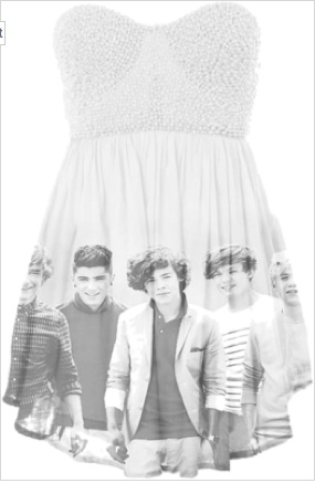 ONE DIRECTION DRESS <3
