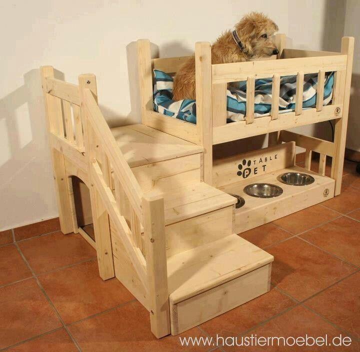Cuccia in legno fai da te