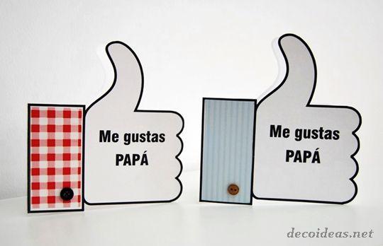 Scheda Festa del Papà da stampare
