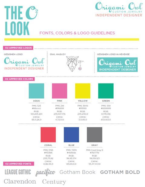 Color codes, fonts and logo's Follow CINDY CAZARES on FB! https://www.facebook.com/hellociindycharms